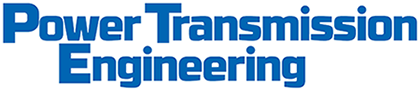 Power Transmission Engineering blue letters on white background