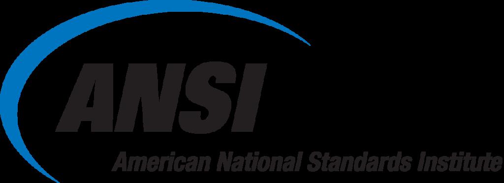 ANSI American National Standards Institute logo