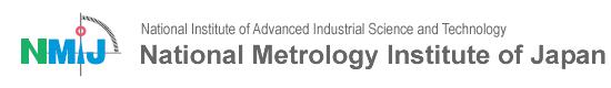 National Metrology Institute of Japan logo