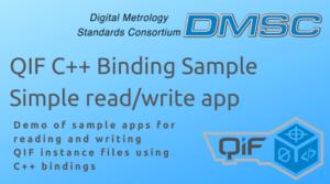 DMSC QIF C++ Binding Sample Simple Read/write app