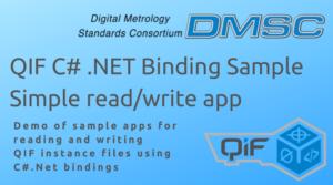DMSC QIF C# .NET Binding Sample Simple read/write app