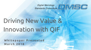 DMSC Driving New Value & Innovation with QIF White Paper Presented March 2018