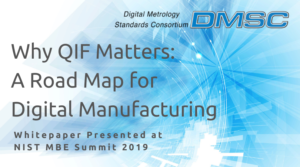 DMSC Why QIF Matters: A Road Map for Digital Manufacturing White Paper Presented at NIST MBE Summit 2019