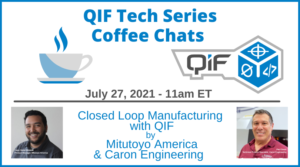 QIF Tech Series Coffee Chat Closed Loop Manufacturing with QIF 7-27-21